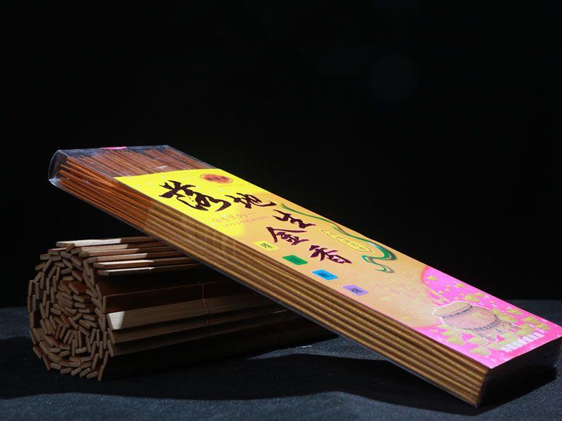 透明方盒竹签香